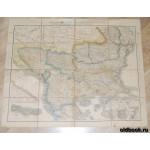 Генеральная карта Балканского полуострова. 1886 г.