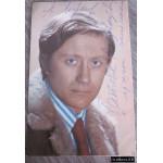 Андрей Миронов. Открытка с автографом и дарственной надписью артиста. 1974 г.